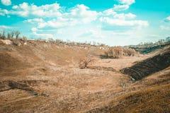 Осень в Sokyriany стоковые изображения