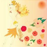Осень женщины Стоковые Изображения RF