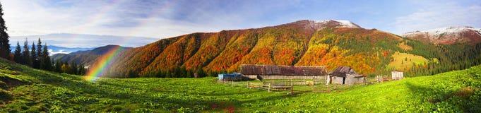 Осень и зима совместно Стоковые Фотографии RF