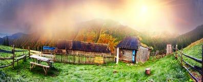 Осень и зима совместно Стоковое Изображение