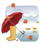 Осень - иллюстрация Стоковые Фотографии RF