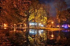 Осень к ноча Стоковые Фотографии RF