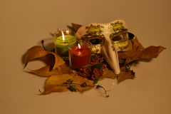 Осень натюрморта Стоковое Изображение