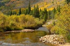 Осень на заводи горы Стоковые Изображения RF