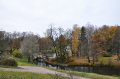 Осень на парке Стоковое Фото