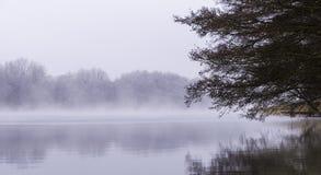 Осень на Schmaler Luzin Стоковая Фотография RF