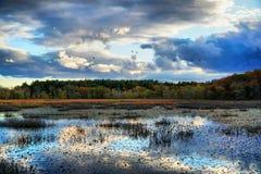 Осень Новой Англии Стоковое Изображение RF