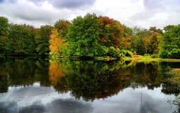 Осень Новой Англии Стоковое Изображение