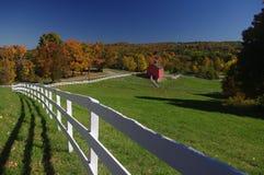 Осень Новой Англии Стоковые Изображения RF