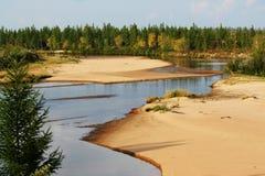 осень северная Стоковые Изображения RF