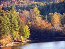 Осень Северной Каролины Стоковое Изображение RF