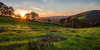 Осень Солнце Стоковые Изображения RF