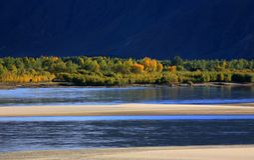 осень Тибет стоковые изображения