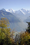 осень Швейцария Стоковые Фото