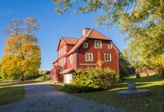 осень Швеция Стоковое Фото