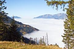 осень alps Стоковая Фотография RF