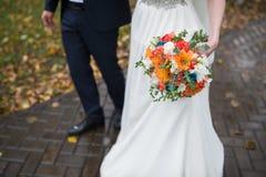 Осень, bridal букет Стоковые Изображения