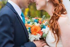 Осень, bridal букет Стоковая Фотография RF