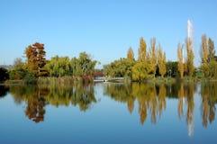 осень canberra Стоковое фото RF