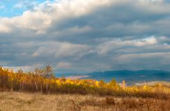 осень carpathians стоковая фотография