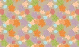 8 осень eps изолировала белизну вектора листьев иллюстрация вектора