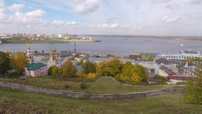 Осень Nizhny Novgorod Россия видеоматериал