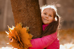 осень outdoors Стоковые Изображения