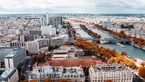 осень paris Стоковая Фотография