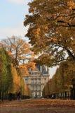 осень paris стоковое изображение rf