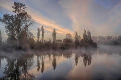 Осень Snohomish Стоковая Фотография