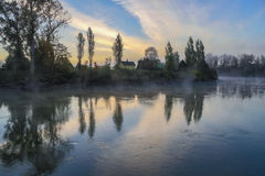 Осень Snohomish Стоковое Фото
