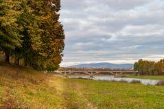 Осень Uzhhorod Стоковое Фото