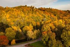 осень vilnius Стоковая Фотография RF