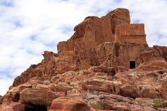 Осел в Petra Стоковые Изображения