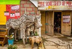 Осел рыночной площади деревянный Стоковое Фото
