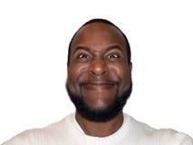 оскал выражения лицевой смешной садистический Стоковое Фото