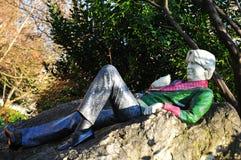 Оскар Wilde стоковые изображения rf