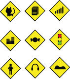 доска дорожного знака Стоковое Изображение