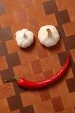 доска прерывая овощи Стоковое Изображение RF