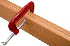 2 доски и струбцины плотника Стоковое Фото