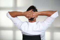 ослабленный бизнесмен Стоковое фото RF