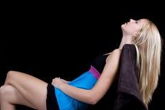 ослаблять пнутый задней частью Стоковые Изображения RF