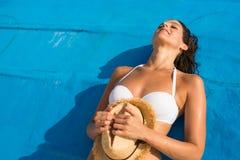 ослабляя каникула лета стоковое изображение