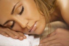 ослабляя спа v Стоковые Фотографии RF