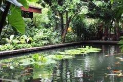 Ослабьте бассейн воды для остальных в курорте спы Стоковые Изображения RF