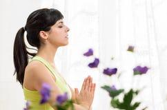 ослабьте йогу Стоковые Изображения