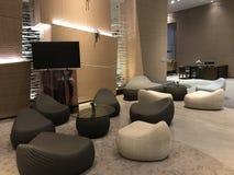 ослабьте угол в современной гостинице Стоковое Фото