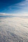 осмотренное облако одеяла самолета Стоковое Изображение RF