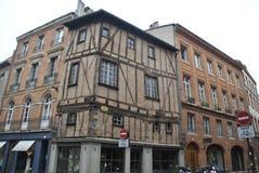 Осмотрите на улицах Бордо стоковые фотографии rf