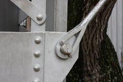 Основание водонапорной башни в Gruene Техасе Стоковое фото RF